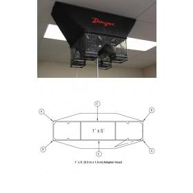 Zusatz-Messhaube 0,3 m x 1,5 m