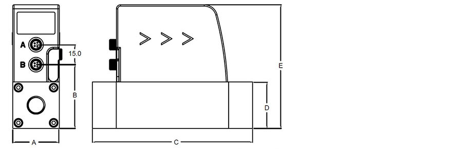 Abmessungen EMS 415 / 418
